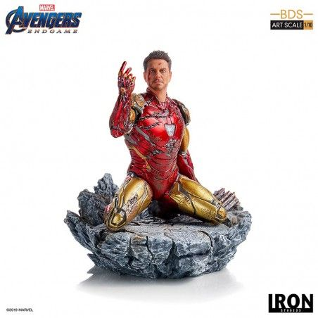 AVENGERS ENDGAME I AM IRON MAN SCALE 1/10 STATUE FIGURE