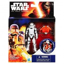 STAR WARS - ARMOR UP FLAMETROOPER ACTION FIGURE HASBRO