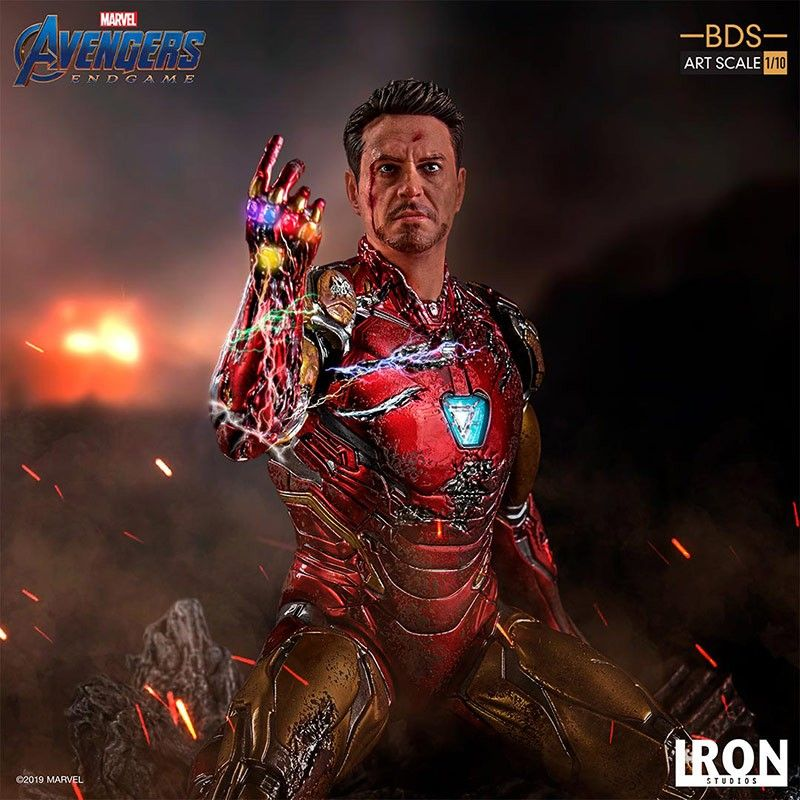 AVENGERS ENDGAME I AM IRON MAN SCALE 1/10 STATUE FIGURE IRON STUDIOS