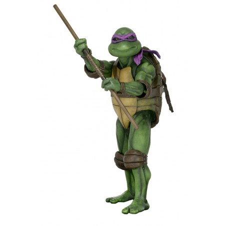 TMNT TEENAGE MUTANT NINJA TURTLES 1990 MOVIE DONATELLO 1/4 ACTION FIGURE