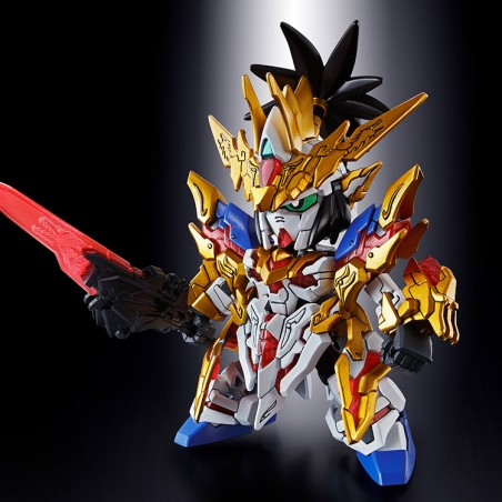 SD SANGOKU SOKETS LIU BEI GUNDAM UNICORN MODEL KIT ACTION FIGURE