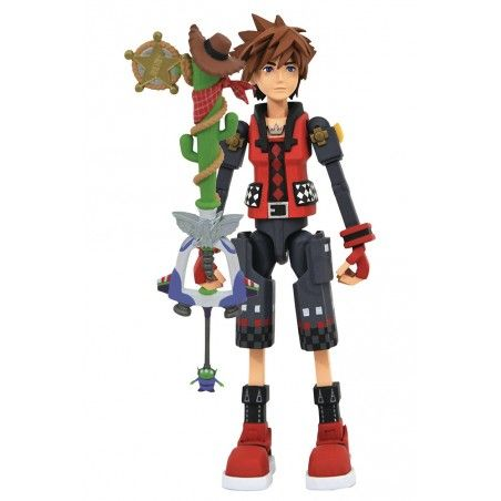 KINGDOM HEARTS 3 VALOR TOY STORY SORA ACTION FIGURE