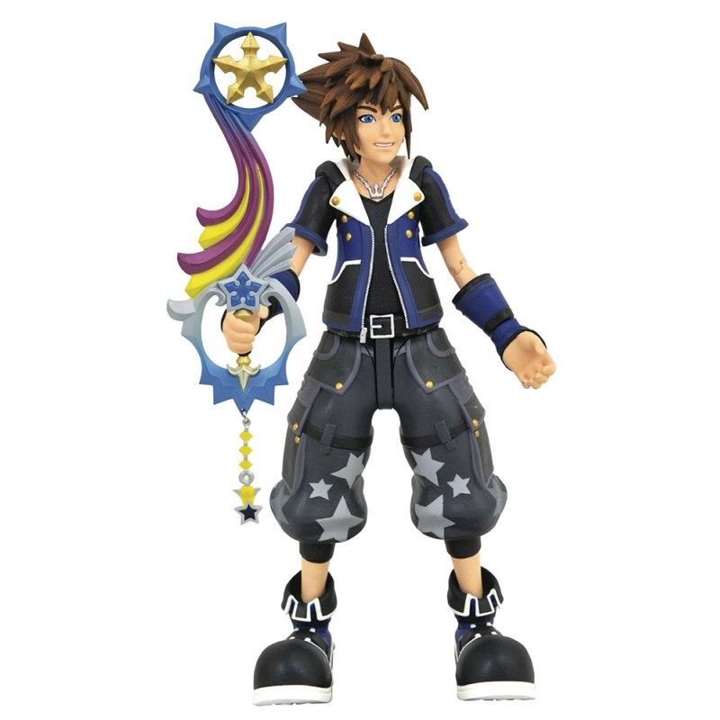 KINGDOM HEARTS 3 WISDOM TOY STORY SORA ACTION FIGURE DIAMOND SELECT