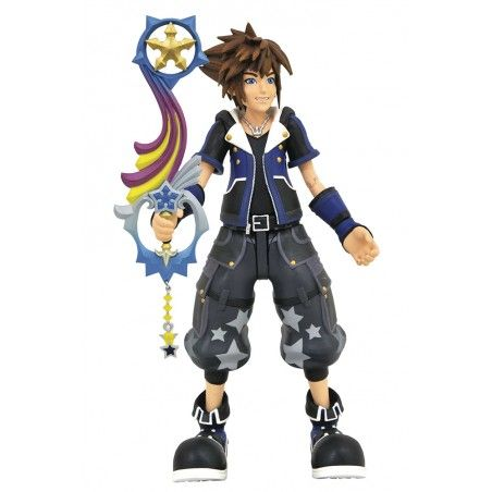KINGDOM HEARTS 3 WISDOM TOY STORY SORA ACTION FIGURE