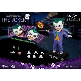 BEAST KINGDOM EGG ATTACK JOKER ANIMATED SERIE ACTION FIGURE