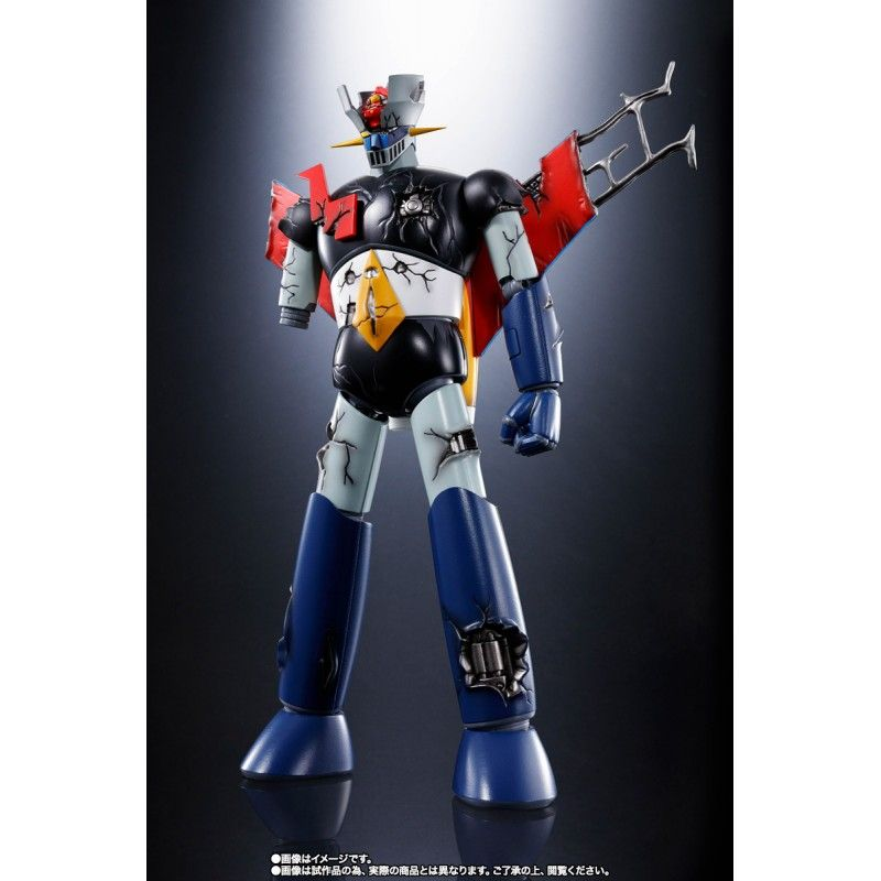 SOUL OF CHOGOKIN GX-70SPD MAZINGER Z DC DAMAGE ANIME COLOR ACTION FIGURE BANDAI