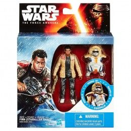 STAR WARS - ARMOR UP FINN (BASE STARKILLER) ACTION FIGURE HASBRO