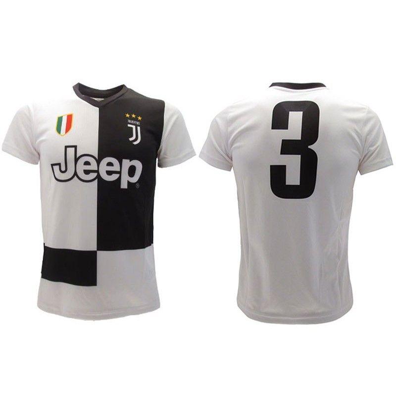 MAGLIA CALCIO UFFICIALE JUVENTUS FC 2019 2020 NUMERO 3