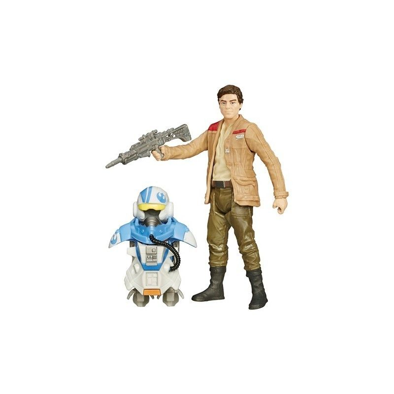 HASBRO STAR WARS - ARMOR UP POE DAMERON ACTION FIGURE