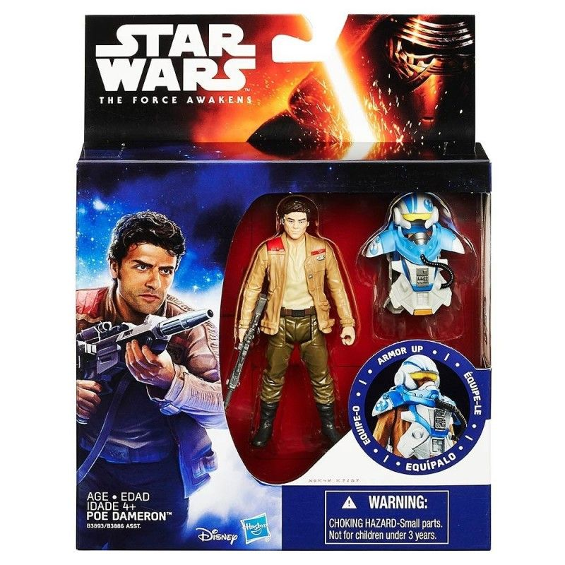 STAR WARS - ARMOR UP POE DAMERON ACTION FIGURE HASBRO
