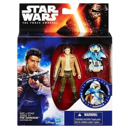 STAR WARS - ARMOR UP POE DAMERON ACTION FIGURE