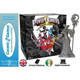POWER RANGERS HEROES OF THE GRID BOARDGAME GIOCO DA TAVOLO RENEGADE GAME STUDIOS