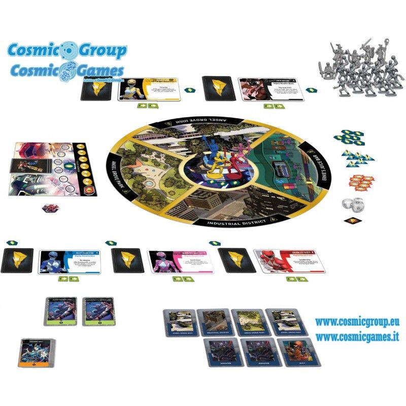 RENEGADE GAME STUDIOS POWER RANGERS HEROES OF THE GRID BOARDGAME GIOCO DA TAVOLO