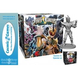 RENEGADE GAME STUDIOS POWER RANGERS SHATTERED GRID EXPANSION ESPANSIONE GIOCO DA TAVOLO