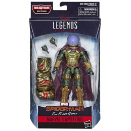 MARVEL LEGENDS SERIES MOLTEN - SPIDER-MAN FAR FROM HOME MYSTERIO ACTION  FIGURE