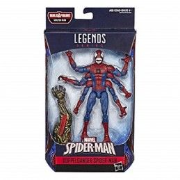 HASBRO MARVEL LEGENDS SERIES MOLTEN - DOPPELGANGER SPIDER-MAN ACTION FIGURE