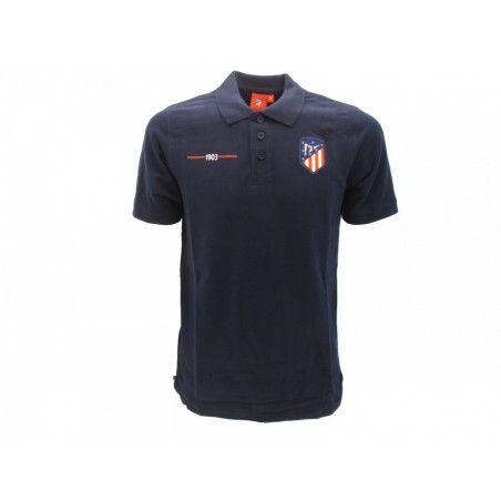 MAGLIA T SHIRT POLO UFFICIALE ATLETICO MADRID BLUE