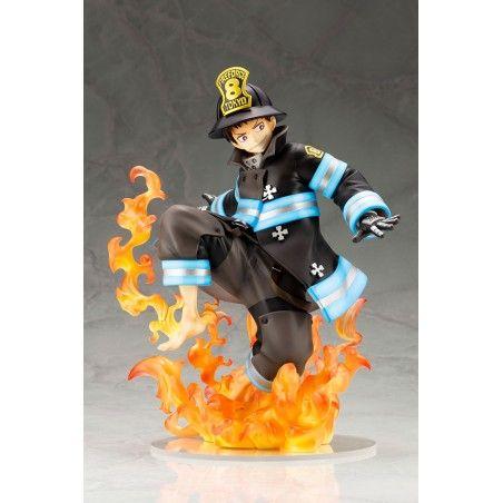 FIRE FORCE - SHINRA KUSAKABE ARTFX J 21 CM FIGURE STATUA