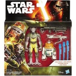 STAR WARS 2-PACK - GARAZEB ORRELIOS E C1-10P CHOPPER ACTION FIGURE HASBRO
