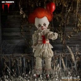 LIVING DEAD DOLLS LDD IT 2017 PENNYWISE ACTION FIGURE MEZCO TOYS