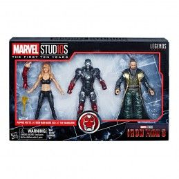 HASBRO MARVEL LEGENDS IRON MAN 3 - PEPPER POTTS, IRON MAN AND MANDARIN 3-PACK ACTION FIGURE