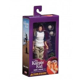 KARATE KID 1984 - DANIEL LARUSSO CLOTH ACTION FIGURE NECA