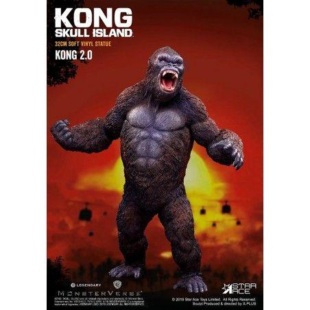 KING KONG SKULL ISLAND 2.0 SOFT VINYL STATUE 32CM FIGURE