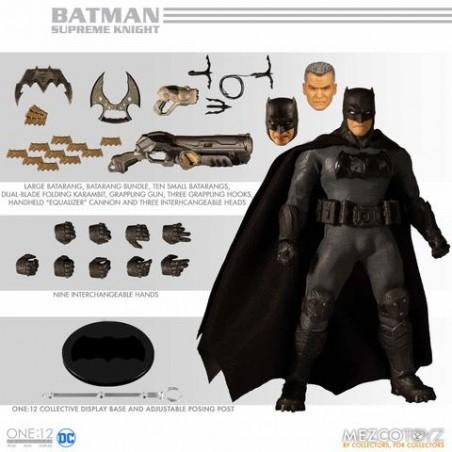 DC COMICS BATMAN SUPREME KNIGHT CLOTH ONE:12 ACTION FIGURE