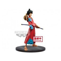 ONE PIECE STAMPEDE DXF GRANDLINE - MONKEY D. LUFFY 16 CM STATUE FIGURE BANPRESTO