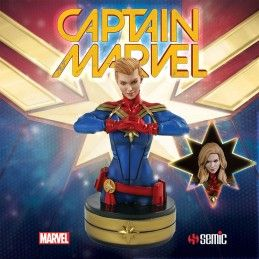 CAPTAIN MARVEL 20 CM RESIN BUST FIGURE STAR ACE