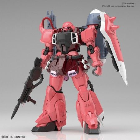MG MASTER GRADE GUNDAM ZAKU GUNN WARRIOR LUNAMARIA 1/100 MODEL KIT ACTION FIGURE