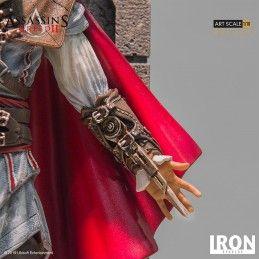 IRON STUDIOS ASSASSIN'S CREED - EZIO AUDITORE ART SCALE 1/10 DELUXE STATUE 31CM FIGURE