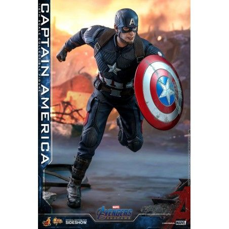 MARVEL AVENGERS ENDGAME - CAPTAIN AMERICA 30CM MOVIE MASTERPIECE ACTION FIGURE