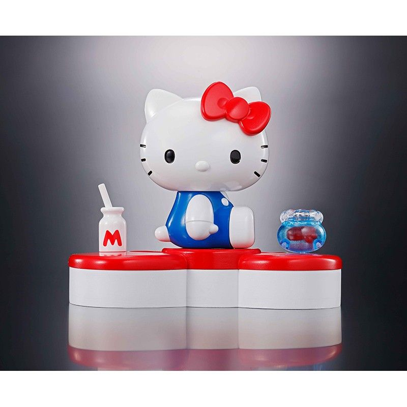 HELLO KITTY CHOGOKIN 45TH ANNIVERSARY FIGURE BANDAI