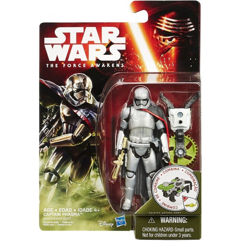 HASBRO STAR WARS - JUNGLE WAVE CAPTAIN PHASMA ACTION FIGURE
