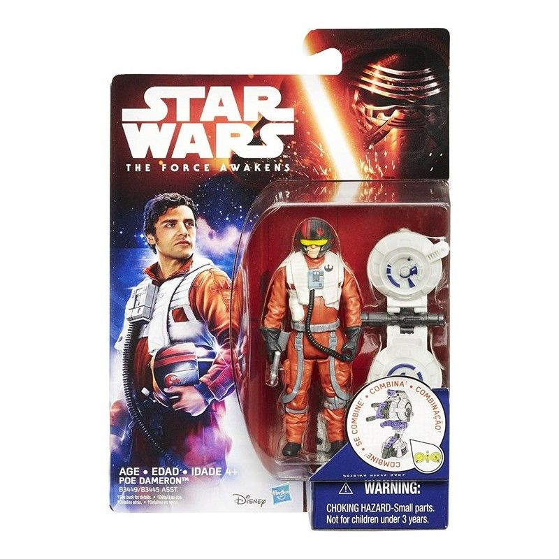 STAR WARS - SPACE WAVE POE DAMERON ACTION FIGURE HASBRO
