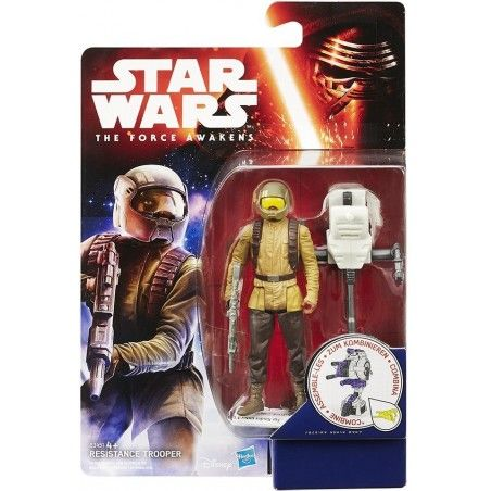 STAR WARS - SPACE WAVE RESISTANCE TROOPER ACTION FIGURE