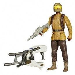 STAR WARS - SPACE WAVE RESISTANCE TROOPER ACTION FIGURE HASBRO