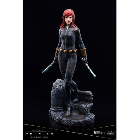 MARVEL UNIVERSE BLACK WIDOW PREMIER STATUE