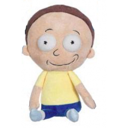 RICK AND MORTY - MORTY 25CM PUPAZZO PELUCHE PLUSH FIGURE PLAY BY PLAY