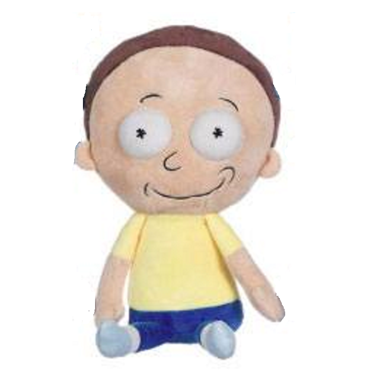 PLAY BY PLAY RICK AND MORTY - MORTY 25CM PUPAZZO PELUCHE PLUSH FIGURE
