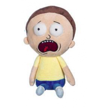 RICK AND MORTY - MORTY 25CM PUPAZZO PELUCHE PLUSH FIGURE
