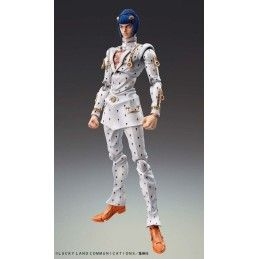 JOJO BIZARRE ADVENTURE CHOZOKADO BRUNO BUCCIARATI ACTION FIGURE MEDICOS ENTERTAINMENT