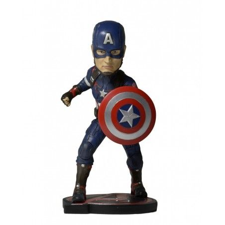 AVENGERS AGE OF ULTRON - CAPTAIN AMERICA BOBBLE HEADKNOCKER FIGURE
