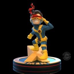 MARVEL Q-FIG DIORAMA X-MEN CYCLOPS MINI FIGURE QUANTUM MECHANIX