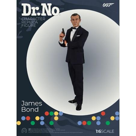 007 DR NO - JAMES BOND SEAN CONNERY CLOTH 1:6 SCALE ACTION FIGURE 30CM