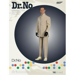 007 DR NO - DOTTOR NO CLOTH 1:6 SCALE ACTION FIGURE 30CM BIG CHIEF