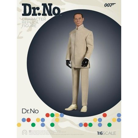 007 DR NO - DOTTOR NO CLOTH 1:6 SCALE ACTION FIGURE 30CM