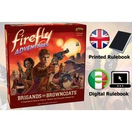 FIREFLY ADVENTURES - BRIGANDS AND BROWNCOATS - GIOCO DA TAVOLO GALE FORCE NINE