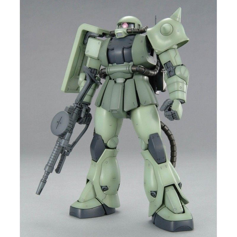 BANDAI MASTER GRADE MG MS-06F ZAKU II VER 2.0 1/100 MODEL KIT ACTION FIGURE